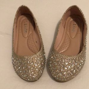Other - Gold and rhinestone dress shoes